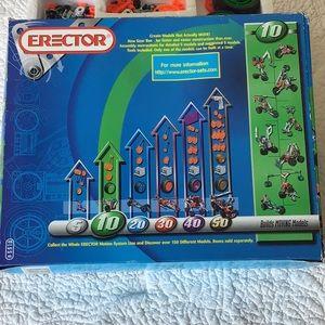 Erector Set #835510 Parts Only